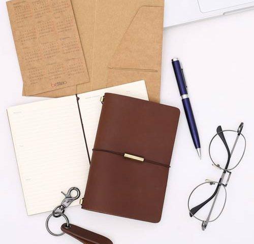 traveler's notebook, midori notebook