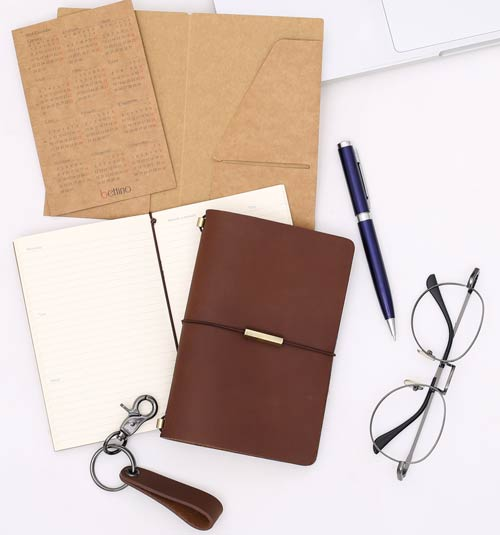 traveler's notebook, midori notebook